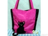 Patch Work Tote Cat Pink image